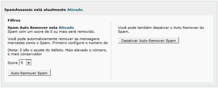 AntiSpam Activo