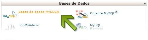 Bases de Dados MySql Cpanel