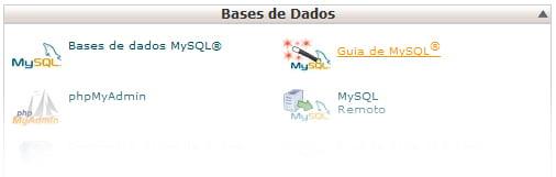cPanel Guia MySQL