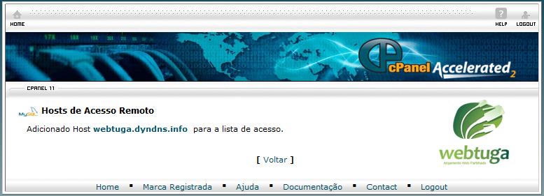 cPanel MySql Remote Access