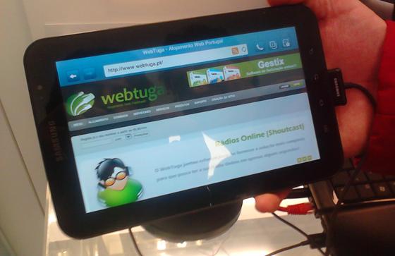 WebTuga Samsung Galaxy Tab